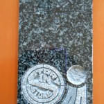 南アフリカ産「FG-30」のお墓(展示品)