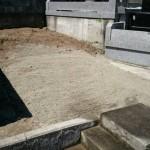 宮城県名取市:お墓の解体工事 2