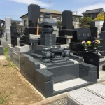 仙台市泉区:お墓の建立工事を承りました