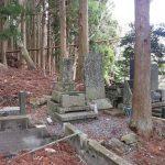 お墓の解体工事に行ってきました。石巻市鮎川港の近くの共同墓地