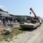 石巻市北上で解体工事を行ってきました。