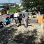 宮城県遠田郡涌谷町で外柵を新しくする工事をしてまいりました。