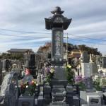 福島県いわき市の新しく建てたお墓の納骨の様子をご紹介いたします。