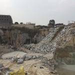 中国の採石場や展示場
