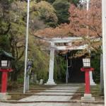 仙台:青葉神社の大鳥居