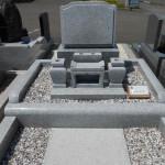 中国産「白麗」のお墓(展示品)