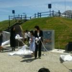 仙台市宮城野区:中野地区地域モニュメント完成式典に参加しました