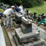 仙台市泉区:お墓の解体工事を承りました