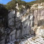 【墓石】真壁小目の採石場の見学【国産:茨城県真壁町】