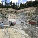 福島県:採石場・工場見学、作業体験をしました