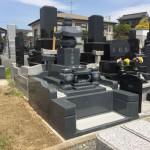 五輪塔のお墓が完成!!:仙台市泉区の寺院墓地