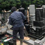 仙台市若林区のお寺様にて、お墓じまい工事と遺骨の改葬が完了しました。
