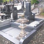 仙台市のお寺様墓地にて、旧墓石を活用したお墓の建て替え、リフォームが完成いたしました
